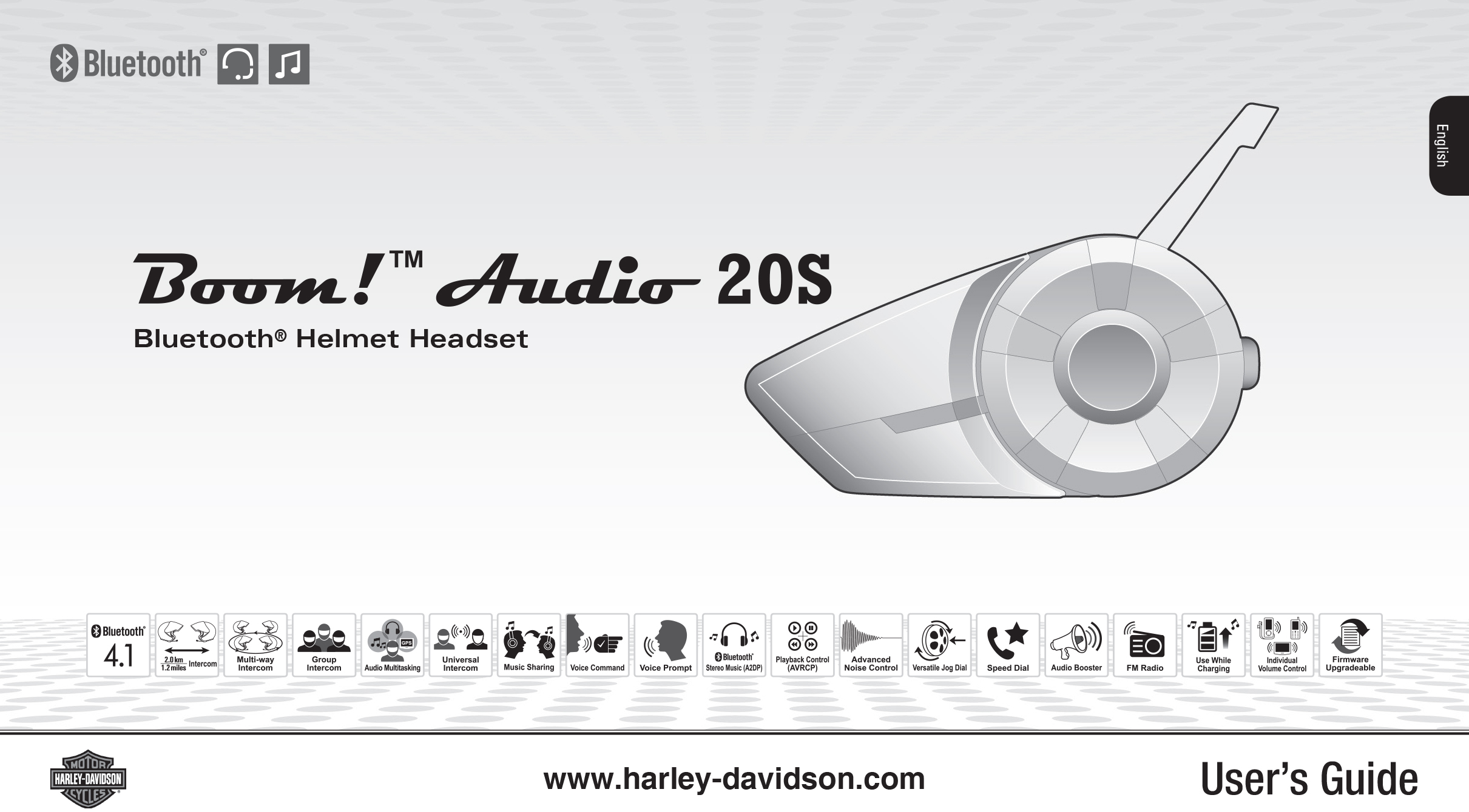 3cdc37b77c1 Download the Boom! Audio 20S EVO User's Guide